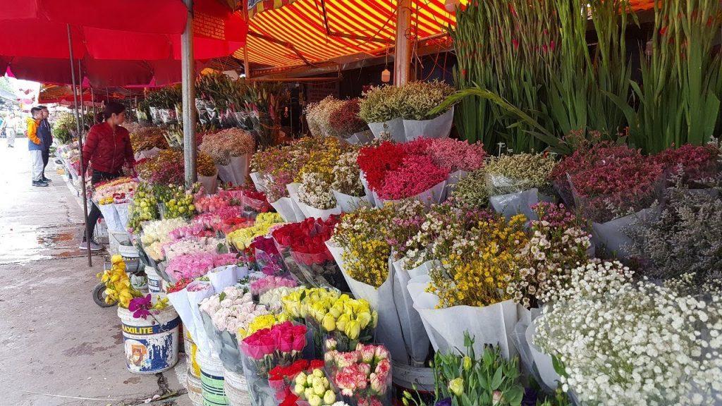 Địa điểm mua hoa giá sỉ