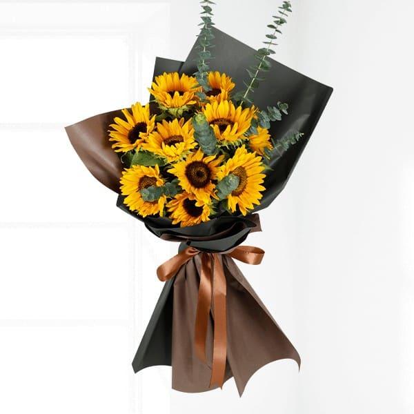 Bó hoa tươi theo phong cách hiện đại