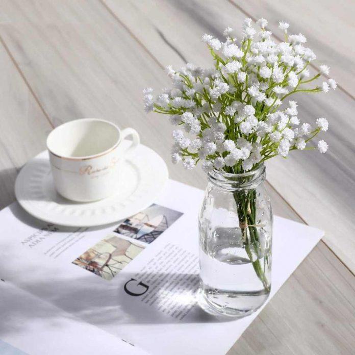 Những bình hoa để bàn thủy tinh đẹp