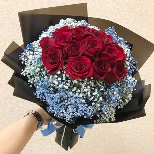 Thể hiện tình yêu với mẹ bằng hoa hồng